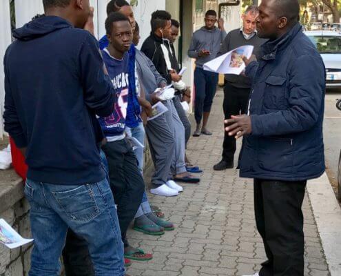 Evangelisatie op straat